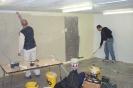 An der Werkstatt wird gebaut